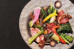 九州の厳選食材をを使用した美しい日本の四季おもてなし料理