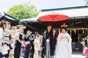 大井神社の神前式