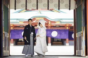 ホテルに隣接している、500年の歴史を誇る日枝神社