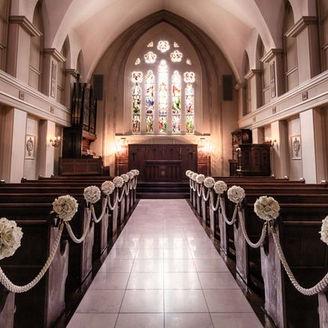 イギリスから譲り受けた教会「聖マリア教会」