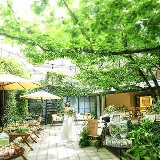 【ガーデン】テレビドラマのロケにも使われる会場で、ワンランク上のおしゃれな邸宅ウエディング