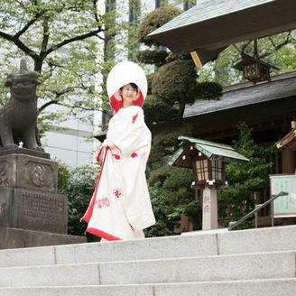 「江戸のお伊勢様」「関東のお伊勢様」として尊崇を集めている芝大神宮で厳粛な神前式を。