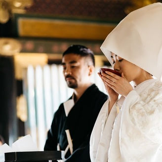 重要文化財に認定される祈祷殿での挙式