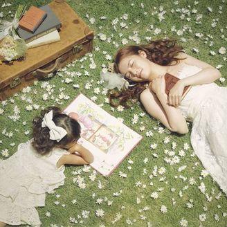 ガーデンに寝っ転がって、のんびりとしたひと時を♪ 小さな頃に憧れた夢のような時間。