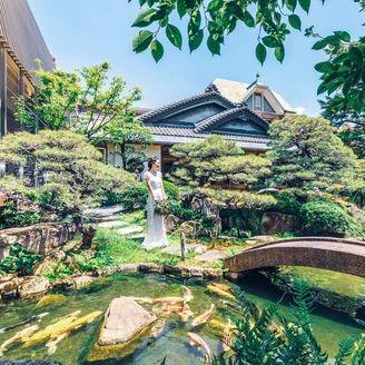 日本の四季を彩る庭園