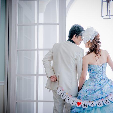 ドレス カラードレス タキシード スタジオ フラッグガーランド
