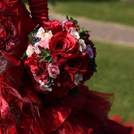 ドレス カラードレス ロケーション フォトウェディング 庭園
