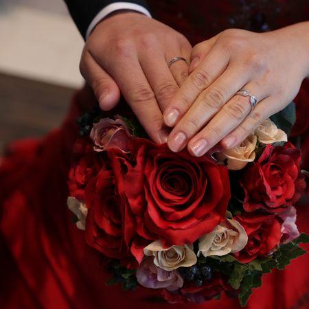 ドレス カラードレス タキシード フォトウェディング 指輪