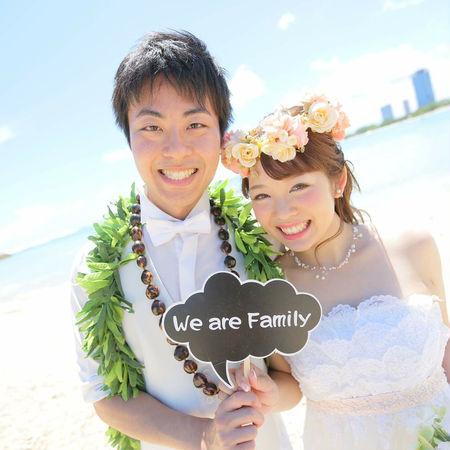 ハワイ ビーチ 海 空 ドレス ウェディングドレス フォトプロップス 花かんむり