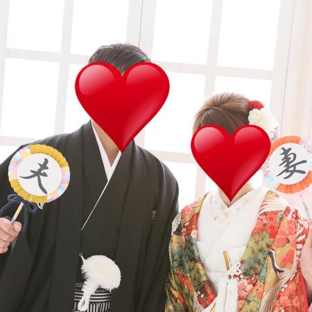 和装 スタジオ 色打掛け 紋付袴 フォトプロップス