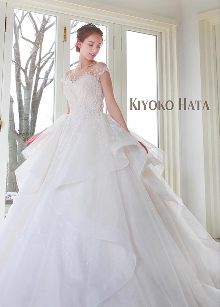 KIYOKO HATA キヨコ ハタのウエディングドレス 1枚目