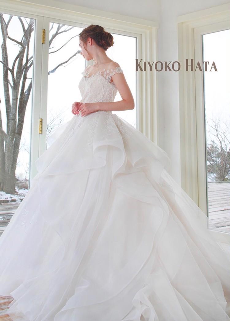 KIYOKO HATA キヨコ ハタのウエディングドレス 2枚目