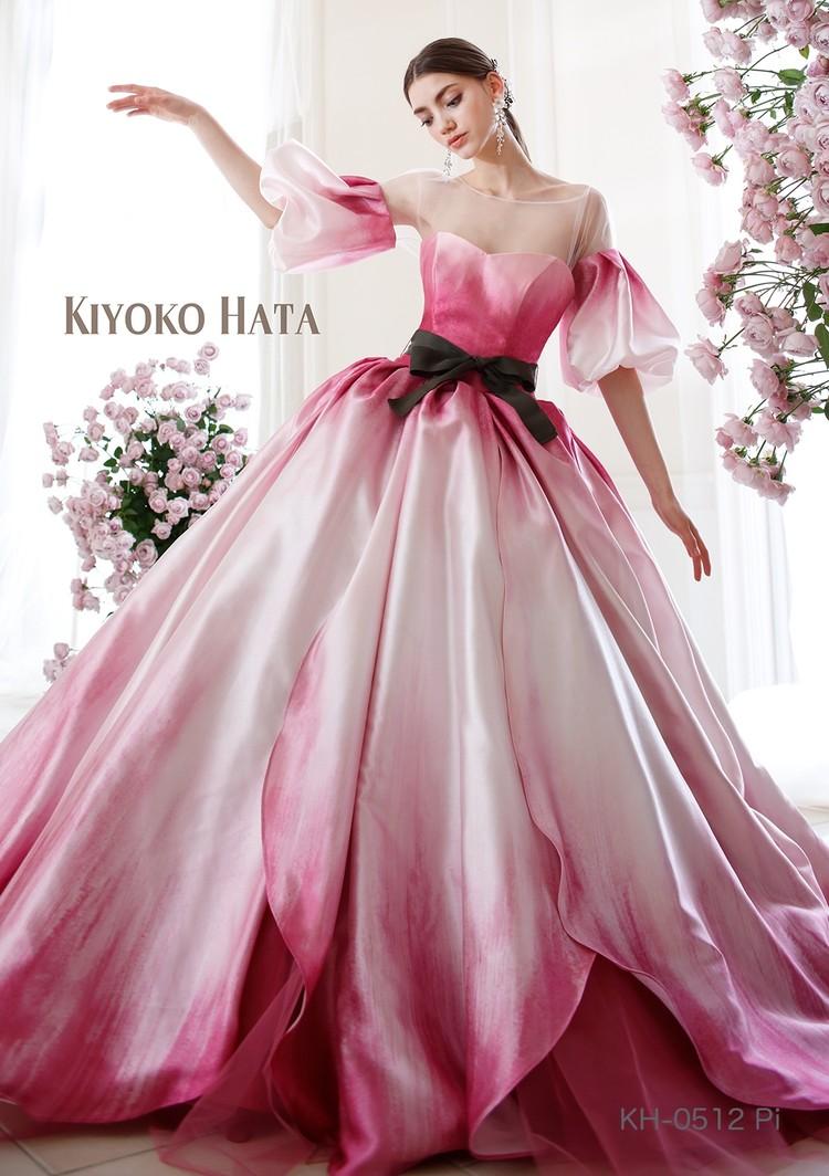 KIYOKO HATA KH-0512 Pi |KIYOKO HATA(キヨコハタ)のウェディングドレス