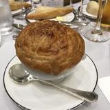 パイ包みのスープ