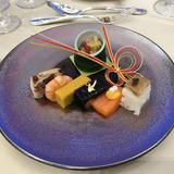 和洋折衷コースのお寿司です