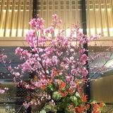 エントランスお花