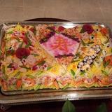 ちらし寿司ケーキです。