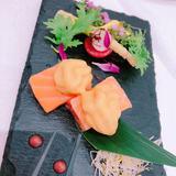 試食会で頂いた和フレンチの前菜です