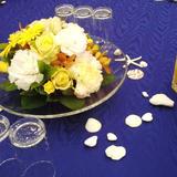 テーブル装飾品の持ち込みも可能でした!