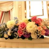 お花がとても満足の仕上がりでした。