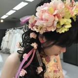 衣装に合う花冠を貸していただきました!