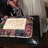 ケーキ入刀!