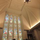 天井も高く、落ち着いた雰囲気