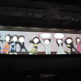 ワイドスクリーンによる演出