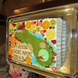 こだわりのウェディングケーキです。