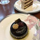 ホテルのケーキも美味しいです。