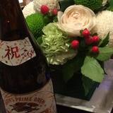 和の装花。一月には最適です。