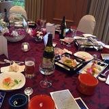 15000円コースのお料理。大満足!