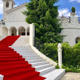 この大階段がとっても魅力的でした