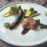 肉料理、魚料理のワンプレート