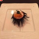 ウニとタラバガニの前菜