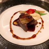 ロッシーニ。お肉がとても柔らかく絶品です