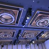 披露宴会場の天井