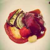 ソースと野菜、お肉が絶妙なバランス