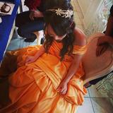 ベルのドレスです