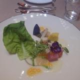 色鮮やかな前菜です。