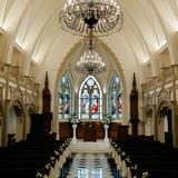 ステンドグラスが素敵な大聖堂