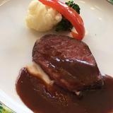 フィレ肉ステーキ柔らかいです。