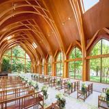 木の教会にはいつも癒されてました。