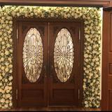 式場の扉が素敵です
