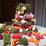 手作りの「野菜ケーキ」