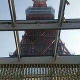 チャペルから見た東京タワー