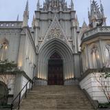大聖堂へ続く階段