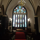 大聖堂のステンドグラスが素晴らしかった。