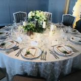 披露宴会場テーブルサンプル