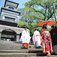 尾山神社結婚式場 金渓閣